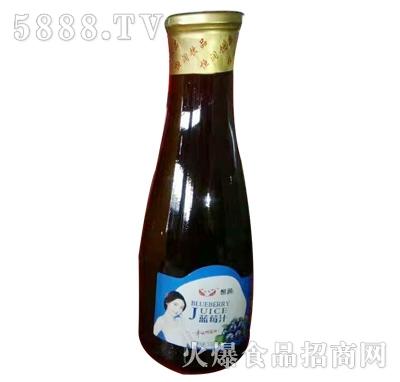 恒润蓝莓汁(玻璃瓶)