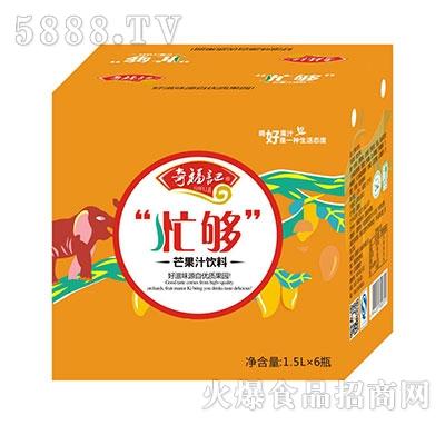 奇福记忙够芒果汁饮料1.5Lx6瓶