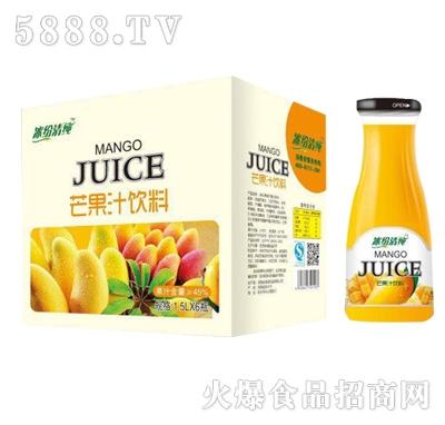 冰纷清纯芒果汁1.5Lx6瓶