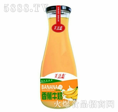 美汁恋香蕉牛奶