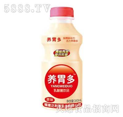 养胃多乳酸菌饮品瓶340ml