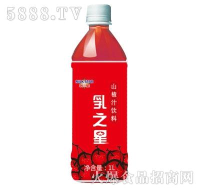 乳之星山楂汁饮料1L