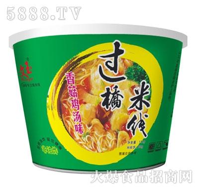 文玉过桥米线香菇鸡汤味
