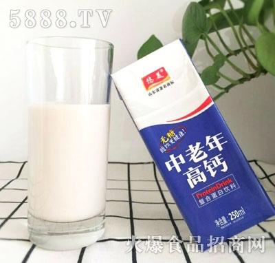 悠美中老年无糖高钙复合蛋白饮料(盒)
