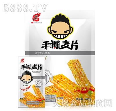 飞旺香辣味手撕麦片480g
