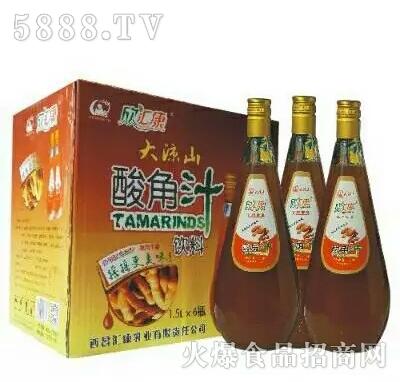 欣汇康酸角汁1.5LX6瓶