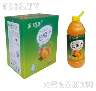 欣汇康芒果汁1.8LX6瓶