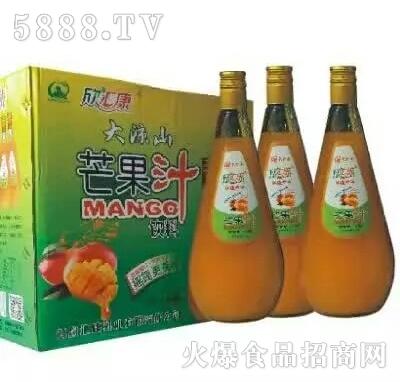欣汇康芒果汁
