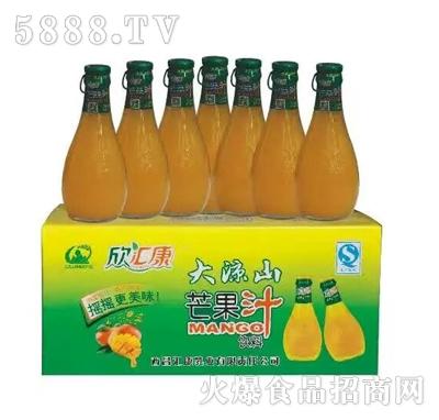 欣汇康芒果汁(瓶装)