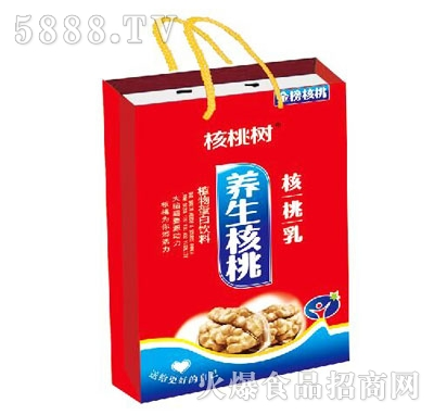 核桃树养生核桃乳(袋)