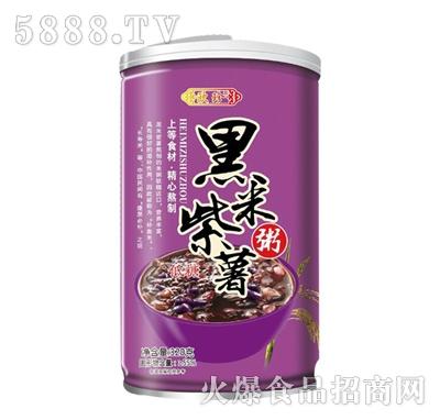 欧珍黑米紫薯粥320g