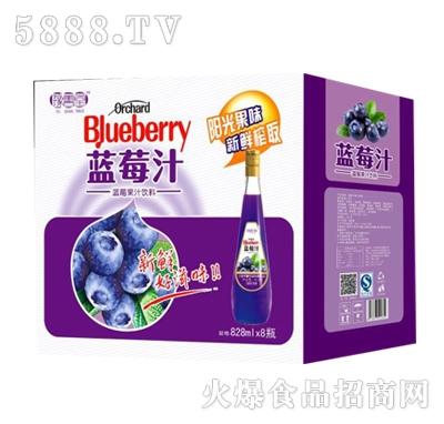 豫善堂蓝莓汁828mlx8瓶