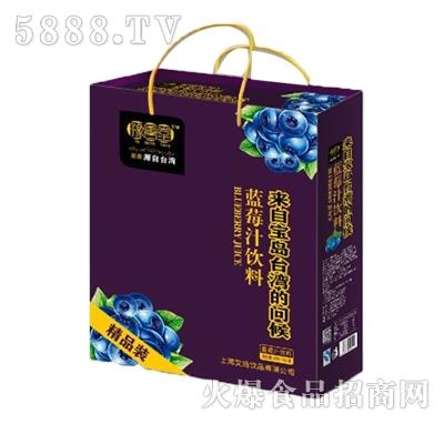 豫善堂蓝莓果汁(箱)