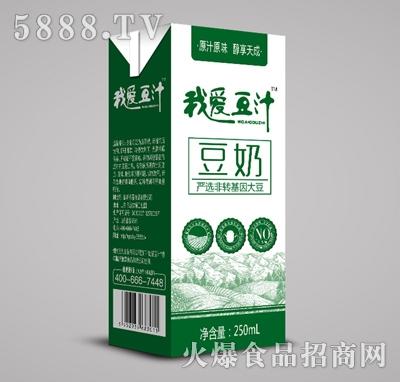 我爱豆汁豆奶250ml