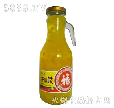 美汁恋开味菜菠萝粒饮料
