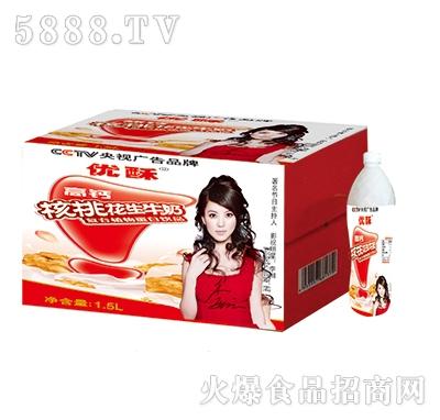 优酥核桃花生牛奶1.5L