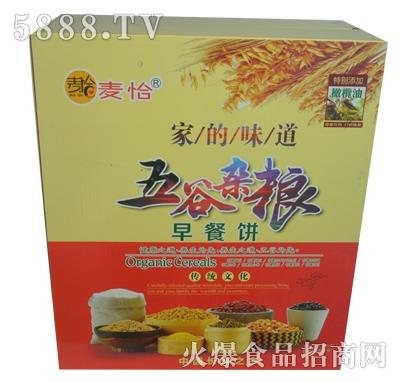 麦恰五谷杂粮早餐饼礼盒
