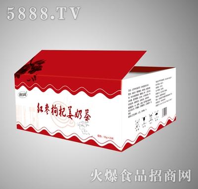 玫日美红枣枸杞姜奶茶(箱)