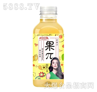 华沃果π芒果汁500ml
