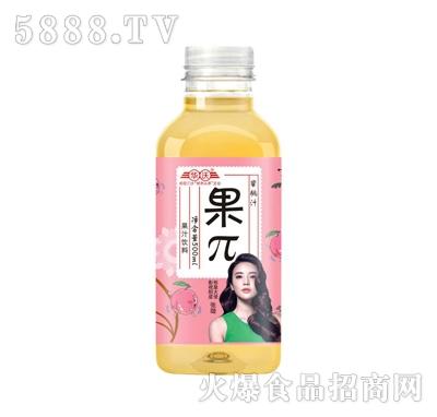 华沃果π蜜桃汁500ml