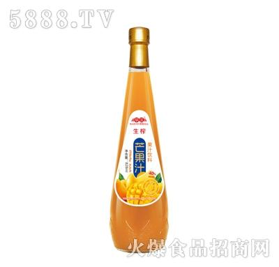 华沃生榨芒果汁828ml