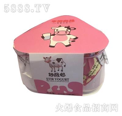 佳因美375克(三瓶装)炒酸奶