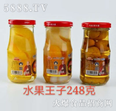 水果王子水果罐头248g