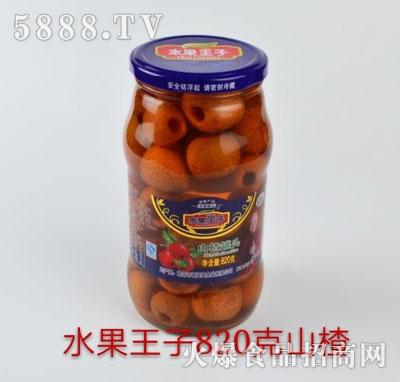 喜盈盈山楂罐头820g
