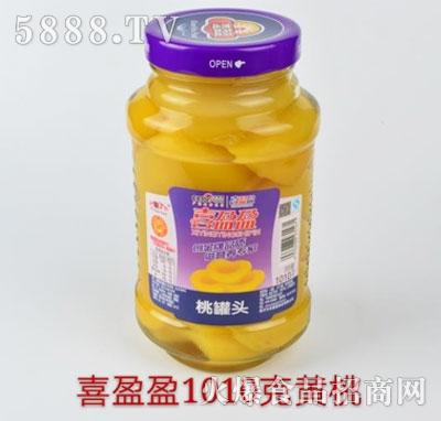 喜盈盈黄桃罐头1010g