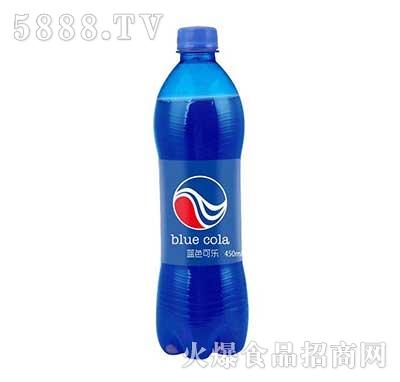 蓝色可乐450ml