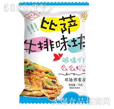 兴华比萨鸡块味75克