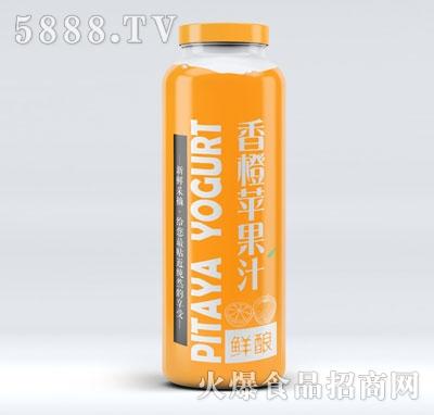 鲜酿香橙苹果汁