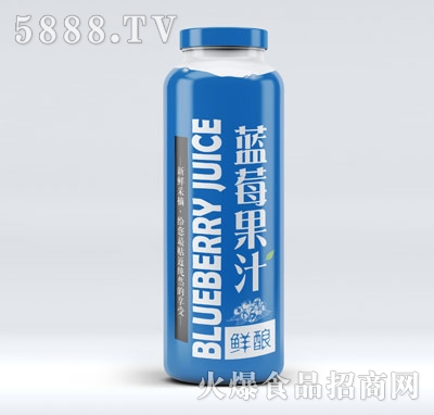 鲜酿蓝莓汁