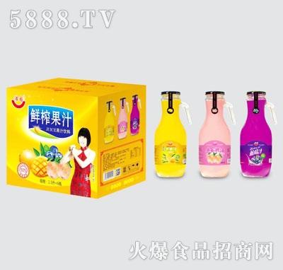 浩园鲜榨果汁(箱)
