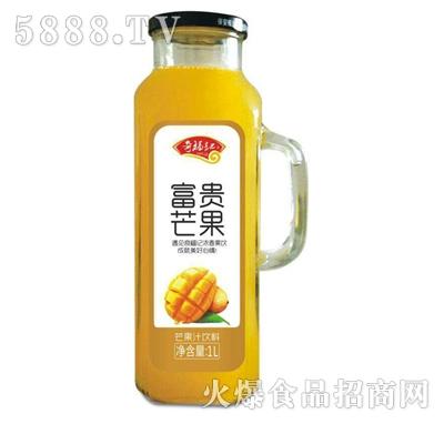 奇福记富贵芒果汁饮料1L