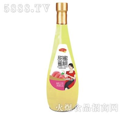 奇福记甜蜜蜜桃汁饮料1.5L