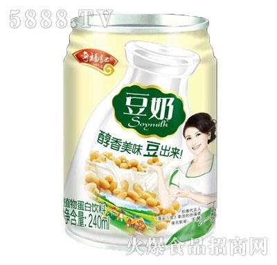 奇福记豆奶植物蛋白饮料240ml