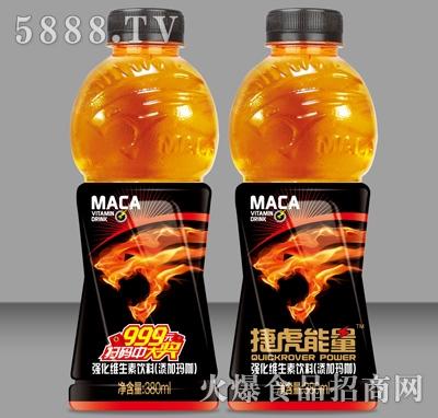 380ml×24捷虎强化维生素玛咖饮料