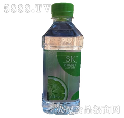 SK350ml柠檬苏打水