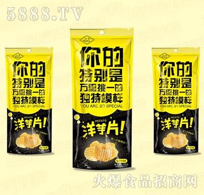 兴华洋芋片105g
