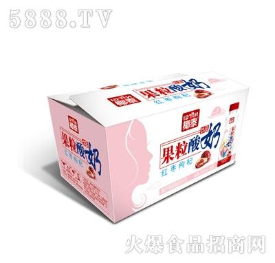 350mlx12椰泰果粒酸奶红枣枸杞外箱