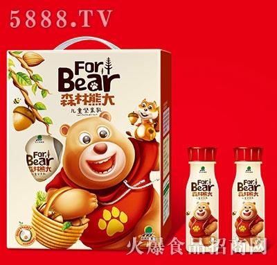 北大荒森林熊大儿童坚果乳礼盒