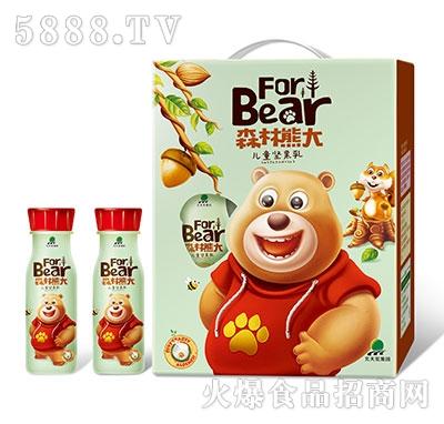 北大荒森林熊大儿童坚果乳