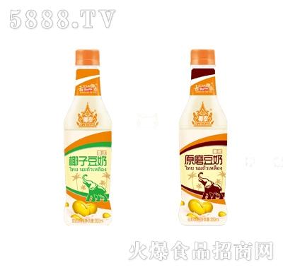 椰泰原味椰子豆奶350ml