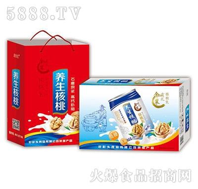 石磨原浆养生核桃饮品礼盒+箱装
