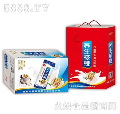 精品石磨养生核桃饮品礼盒+箱装