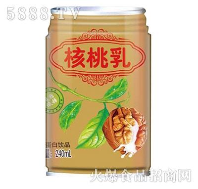 核桃乳植物蛋白饮品240ml罐装