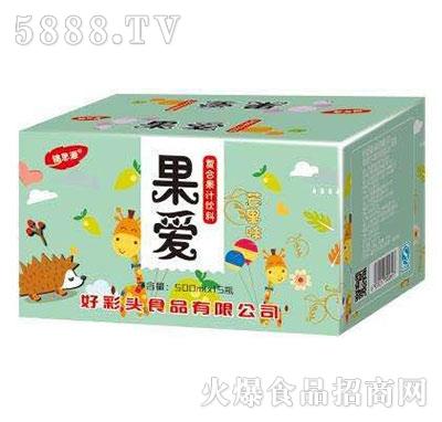 锦思源果爱菠萝味果汁饮料