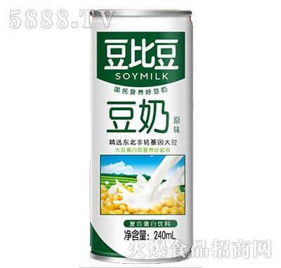 豆比豆豆奶240ml