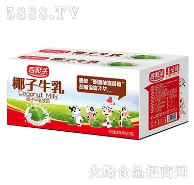 吉彩头椰子牛乳350mlx15瓶